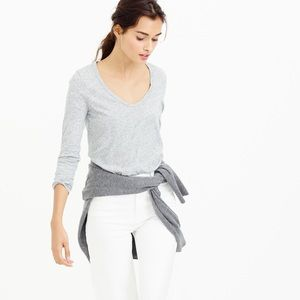 ⚡️ J. Crew Vintage Cotton Long Sleeve T Shirt XS